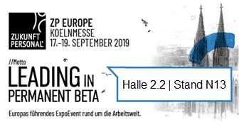 Mit coovi auf der ZP Europe 2019 – Halle 2.2 – Stand N13